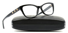New Versace Eyeglasses Women VE 3249 Black GB1 VE3249 54mm