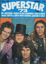 Slade on Superstar Magazine No.19 Cover 1973   Marc Bolan  Andy & David Williams