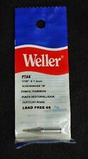 """Weller PTA8 1/16""""x1.6mm Screwdriver Soldering Tip Lot of 3"""
