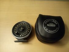 "Cortland LTD Graphite  Fly Reel ""Made in England"""