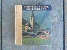 Small Book Of Switzerland (Schweiz, Suisse), 143 Black And White Photos, Used
