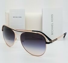 New Michael Kors sunglasses MK1012 110836 58mm Rose Gold Aviator 1012 Vivianna I