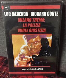 Milano Trema La Polizia Vuole Giustizia DVD Edit. Ancora Sigillato Merenda Conte