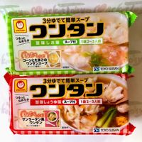 Maruchan, Instant Wonton Dumpling Soup, Salt / Soy Sauce, 2-3 Serving, Japan