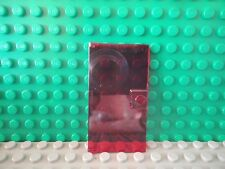 Lego 1 Trans Red 1x4x6 with stud handle single door NEW