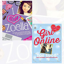 Tbc  & Zoella Girl Online Collection 2 Books Set Pack,I Heart Zoella, Brand NEW