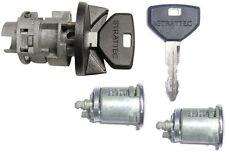 New Chrysler Dodge Ignition Key Switch Cylinder & 2 Door Lock Set W/2 Logo Keys