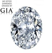 2.04 ct, Color E, VS2, Oval cut Diamond GIA Graded, Unmounted, Appra... Lot 1234