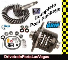 Powertrax Grip LS Posi Pkg GM 8.6 30 Spline 3.42 Gears & Master Kit Axle Brg Kit