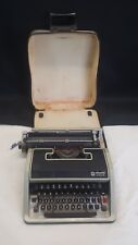 Olivetti Lettera DL Typewriter In Carry Case