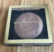 Max Factor Creme Bronzer Powder - Glow-boosting + Shimmering 05 Light Gold USED