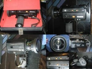 alte BRAUN MAKRO MZ 864 - SUPER 8 FILMKAMERA MIT KOFFER Videokamera Camera