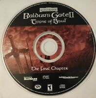 Baldur's Gate II: Throne of Bhaal (PC, 2001) The Final Chapter