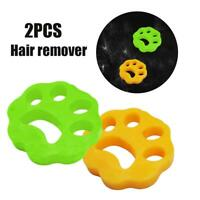 2PCS Cleaning Ball DOG Pet Hair Remover - Removes Cat Fur Dog Hair From Laundry
