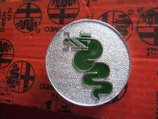 ALFA ROMEO GT BERTONE Emblème Serpent Argent/vert GAUCHE NEUF 105216250100