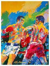 Muhammad Ali vs Leon Spinks  LARGE POSTER - 1978 Boxing Heavyweight Championship