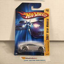 Chevy Camaro Concept #2 * Silver * 2007 Hot Wheels * D24