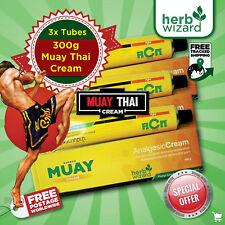 Namman Muay Thai Boxing Analgesic Cream Bruise Pain Reduce Symptoms 100g x 3