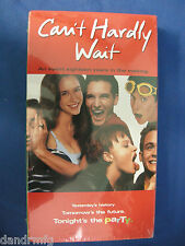 NEW Can't Hardly Wait (VHS, 1998, Closed Captioned) 043396024571
