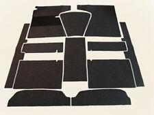 Autoteppich Komplettaustattung für Opel Rekord A Lim. 1963-65 schwarz Schlinge