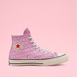 New Womens CONVERSE CHUCK 70 LOVE PEARYSLEY PINK 167345C US W 5.0 -8.5 TAKSE