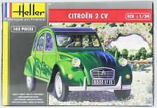"HELLER 1:24 Citroen 2 CV, die ""Ente"", Automodell, Bausatz"