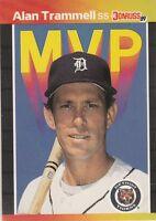 FREE SHIPPING-MINT-1989 (TIGERS) Donruss Bonus MVP's #BC17 Alan Trammell