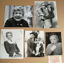 MARY PICKFORD * 5 PRESSEFOTOS - Photos Press Vintage Stills Pressphotos  50s+