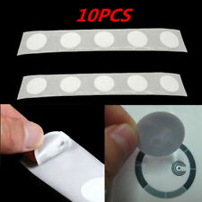 10x Clear 25mm Ntag213 NFC Tags Sticker 13.56 MHZ ISO14443A Universal RFID Tags