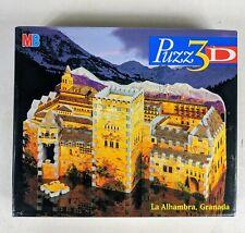 MB PUZZ 3D La Alhambra, Granada Jigsaw Puzzle 254 Pieces Complete
