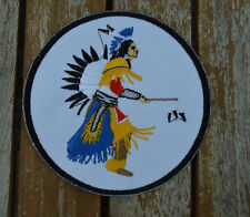 patch , écusson indien 10cm