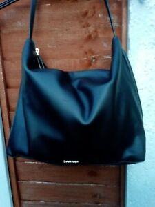 Lovely Black CALVIN KLEIN Hobo Carry Shoulder Bag