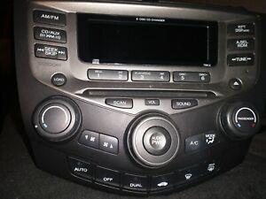 2003-2007 Honda Accord Radio Control Panel 84743