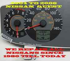 2004 2006 Nissan Quest Instrument Cluster display LCD Repair Service GAS TEMP