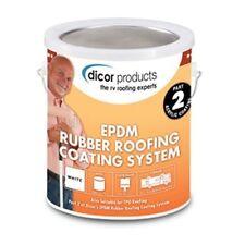 RV Dicor 1 Gallon Rubber Roof Acrylic Coating - White - Model RP-CRC-1