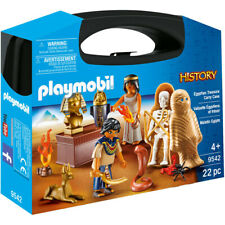 Playmobil History Egyptian Treasure Playset with Carry Case - 9542