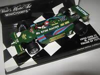 1:43 LOTUS  FORD 79 M. Andretti 1979 Italian GP 400790101 MINICHAMPS OVP NEU