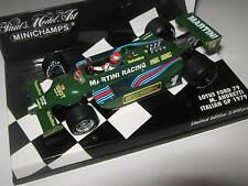1:43 Lotus Ford 79 m. andretti 1979 Italian gp 400790101 Minichamps OVP nuevo