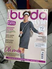 Burda Style Magazine Issue 11 Nov 2020 Designer Pattern Glamour