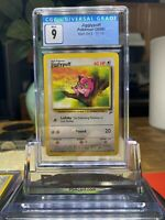 Base Set 2 Jigglypuff WOTC Pokemon Card 77/130 CGC 9 MINT PSA BGS