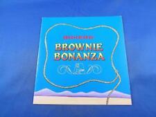 BAKERS BROWNIE BONANZA BAKERS CHOCOLATE ADVERTISING GENERAL FOODS RECIPE BOOK