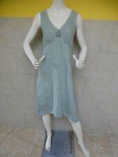 LES GENS jolie robe effet boule 100% lin taille S