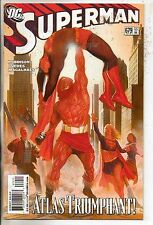 DC Comics Superman #679 October 2008 Alex Ross Cover NM