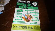 revue  hors serie camping car/ faites le vous même !