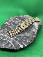 Band 16mm (15.78mm) Gold Filled 1960s Forstner Komfit Mesh Nasa Watch