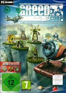 Greed Corp der innovative Strategie - Hit PC Neu & OVP