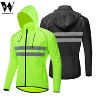 Cycling Hoodie Reflective Jacket Breathable MTB Mountain Bike Windproof Coats