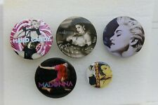 5 badge Madonna . Louise Ciccone