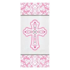 Holy Communion Christening Confirmation Party Loot Bags - 20 Pink Bags -379421