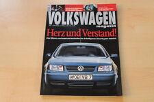 70988) VW Bora Variant - New Beetle RSi Cup - Volkswagen Magazin 05/1999